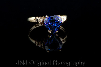 Ring 2 (2 Lights & Black Glass)