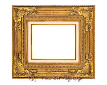Ornate Vintage Style Golden Frame