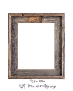 Rustic picture frame