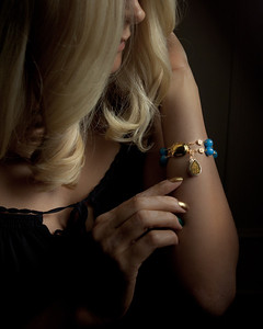 Hairstyling: Le Ann Callaway Jewelry: Minabea Model: Jasmine Lord Photography: Jasmine Lord