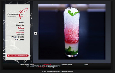 Client: David Meyers Group Comme Ca http://www.commecarestaurant.com/los-angeles/photo-gallery/cocktails/