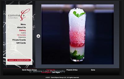 Client: David Meyers Group Comme Ca http://www.commecarestaurant.com/los-angeles/photo-gallery/cocktails/