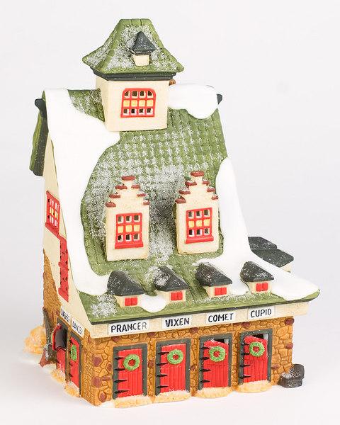 Reindeer Barn<br /> Retired from production December 2000