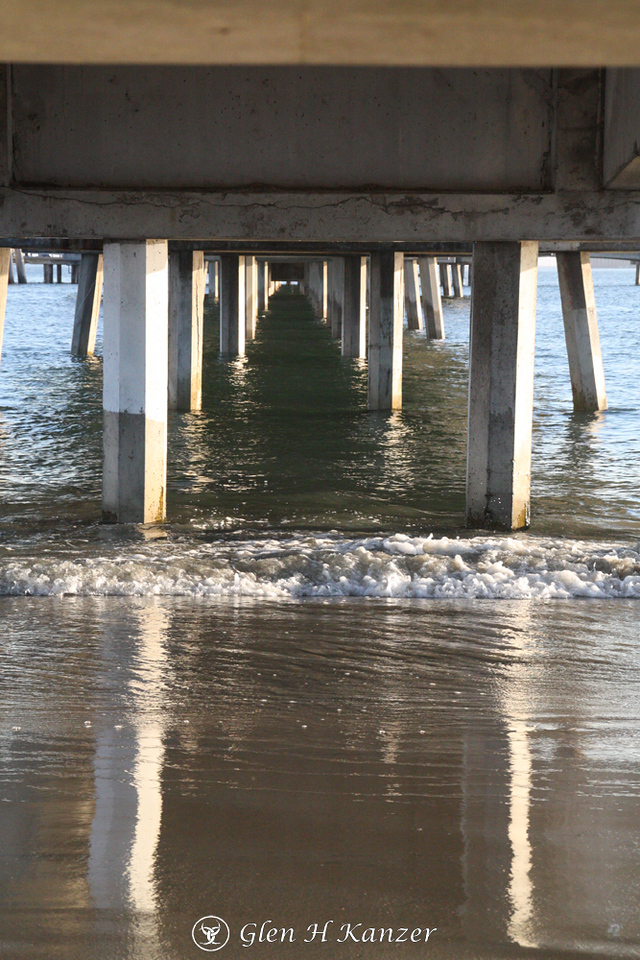 Day 27 - Reflecting under the pier