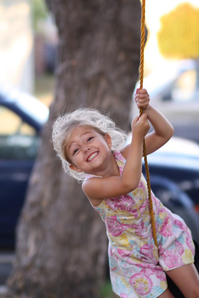Day 105 - The innocence of a swing.