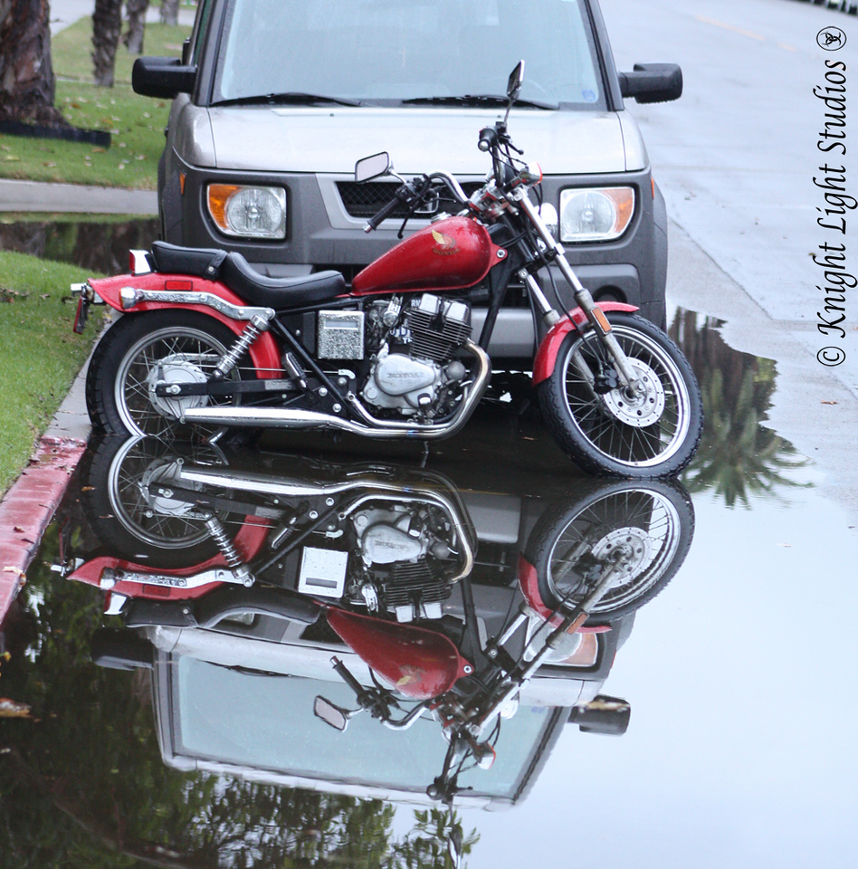 Day 66 - Reflections of a Motorcycle