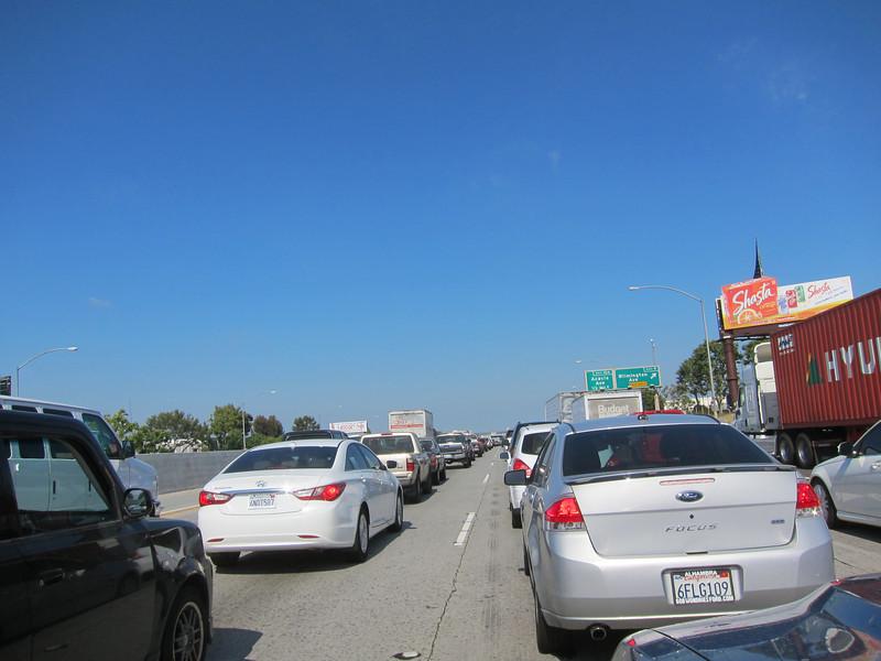 Day 92 - LA traffic.... Gotta just love it.