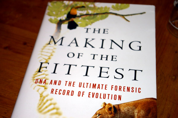 Day 1, October 18, 2006.  Went to the Athenaum and heard this author's lecture.  I quite enjoyed it, being as I am a bit of an opponent to the entire 'Intelligent Design' idea.