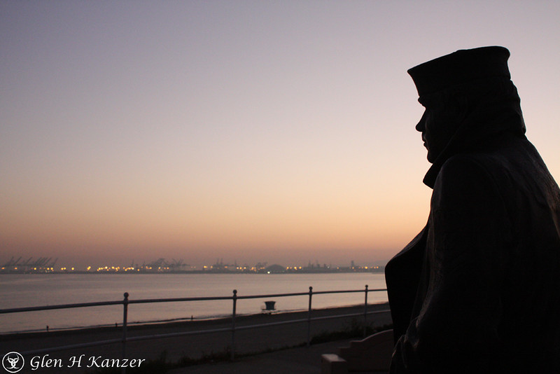 Day 26 - The sailor stands watch over the harbor