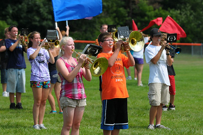 Week 30 - This week the local high school band was holding their band camp in preparation for the upcoming football season.