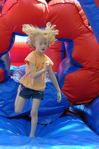 Week 21 - There could be some static electricity in this plastic obstacle course.
