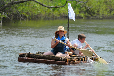 Week 21 - Here's a Tom Sawyer raft race team that looks pretty authentic.