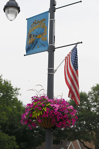 """Week 29 - This was the week that judges visited our community to look over our flowers that were planted for the """"America In Bloom"""" contest."""