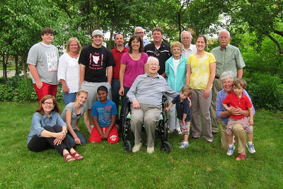 Week 23 - Many family members gathered this week to celebrate the 94th birthday of my father.