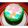 "Russian Easter Cake. (4.14.2012)<br /> <br /> Known as a kulich, they're very much like an Italian Panettone. The 'XB' in Cyrillic letters stands for ""Christ has risen'. There was a priest in the supermarket blessing these."