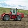 Farm tractor. (Khakassia, Russia)