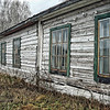Remaining barracks at the Perm 36 Gulag. (RS)<br /> <br /> One of the USSR's harshest Gulag camps, Perm 36 is located about 100 kilometers from the city of Perm in the Ural Mountains. Built in 1946, this camp, and others in the region, housed about 150,000 prisoners, approximately one-third of the working population of the region. This barracks housed 250 men, mostly political prisoners.<br /> <br /> The camp was closed in 1987 and is now a memorial to Gulag victims.