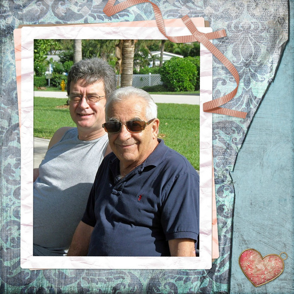 In honor of Father's Day - my two guys. Rustem (Ru) & my father. Taken during one of our visits with Dad in the Sunshine State. (6.19.2011)<br /> <br /> Happy Father's Day to all.