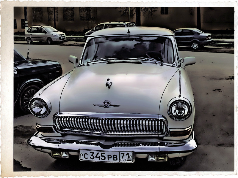 For the car lovers out there, here's a 1960's era Volga in mint condition (Reworked 7.11.2011)