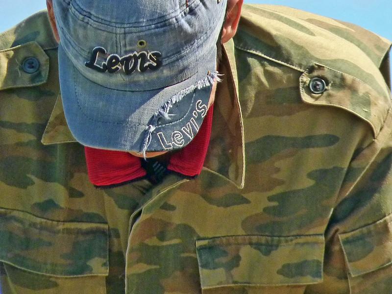 Levis & fatigues. (8.16.2011)
