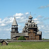 One of the most iconic structures in Russia, the Church of the Transfiguration has 22 sparkling aspen domes. Built in 1714, the church is a UNESCO World Heritage site. No nails were used in its construction. (Kizhi Island)<br /> <br /> This is from our archives, but reworked today. (6.3.2011)