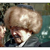 Kyrgyz man waiting in line to cast his ballot in last week's presidential election. (Bishkek, Kyrgyzstan) (11.8.2011)<br /> <br /> Know there are a lot of problems with this shot, but thought you might find it interesting.