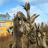 In the small village of Parmailovo, the home and sculptures of local craftsman, Yegor Utrobin. (Perm Region, Russia) (RS)<br /> <br /> Literally, hadn't a moment to post or comment yesterday. Will try to catch up later this evening. Hope everyone had a good weekend.