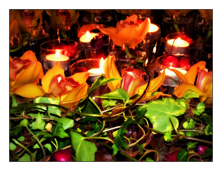 Vines, flowers & candles. (4.10.2012)