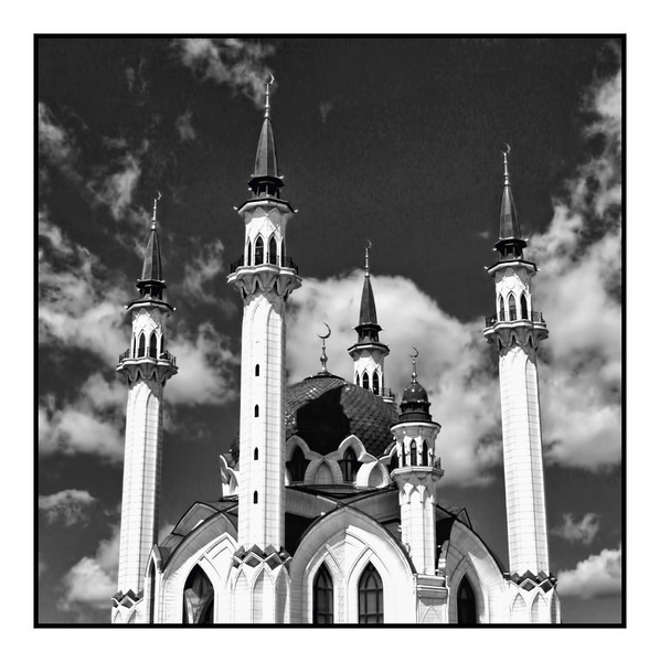 "Qol Sherif Mosque inside the Kazan Kremlin. (6.12.2012)<br /> <br /> The original mosque was built in 1552. This mosque was completed in 2005 to commemorate the city's millennium anniversary. (Republic of Tatarstan, Russia)<br /> <br /> A Rustem shot from his most recent trip, processed by me. Kazan's actually one of a handful of places in Russia I have yet to visit but would like to - It's the land of the ""Golden Hordes"", the Tatars."