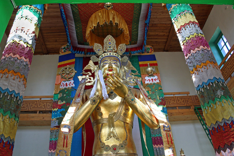 Out early this A.M., so here's a recent, though not new, shot of the Buddha at the Tsugol Monastery. Glad yesterday's piggie brought a few laughs. Have a good day. (6.7.2011)
