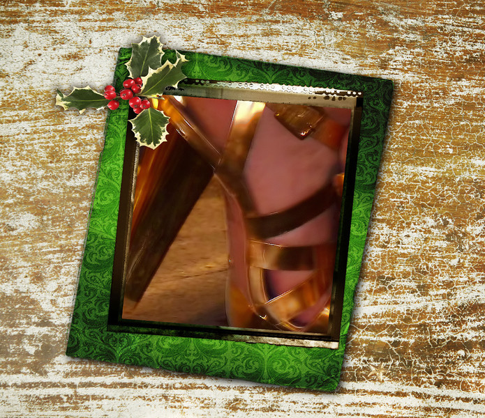 Put on your golden heels - the holidays are here! (Paula's challenge for the day) (12.16.2011)<br /> <br /> While in Spain we were captivated by a very elegant lady decked out in jewels & these heels, but were rather taken aback when she subsequently pulled out a pipe, albeit an appropriately elegant one, and started smoking it. To each their own.