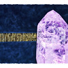Purple crystal ~ for Indigo & Carrie. (5.18.2012)<br /> <br /> Quartz crystal is thought [by some] to be a metaphysical aid assisting in healing, bringing balance, and increasing the flow of energy.<br /> <br /> Not particularly pleased with this & would probably scrap it if I had time, but am up against the clock. Sending positive energy to Indigo & Carrie. <br /> <br /> Thanks for your comments on yesterday's windows. Was I ever surprised when I woke up this A.M. to see it in the top spot. Have a good one!