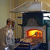 Smelting gold at Petropavlovsk mining. (Amur Region, Russia) (8.4.2011)