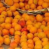 Apricot overflow. Rue Cler. (Paris)