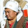 Women worker in the Bishkek market. (11.10.2011)