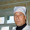 Blue-eyed Russian village veterinarian.