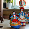 """In the workshop of Dymkovo toys. These ceramic figurines have been made for more than 400 years and are extremely popular. From a recent trip to Kirov. Stay dry! For more on these 'toys':<br /> <br /> <a href=""""http://rt.com/programs/russia-close-up/kirov-region-pickles-toys/"""">http://rt.com/programs/russia-close-up/kirov-region-pickles-toys/</a>"""
