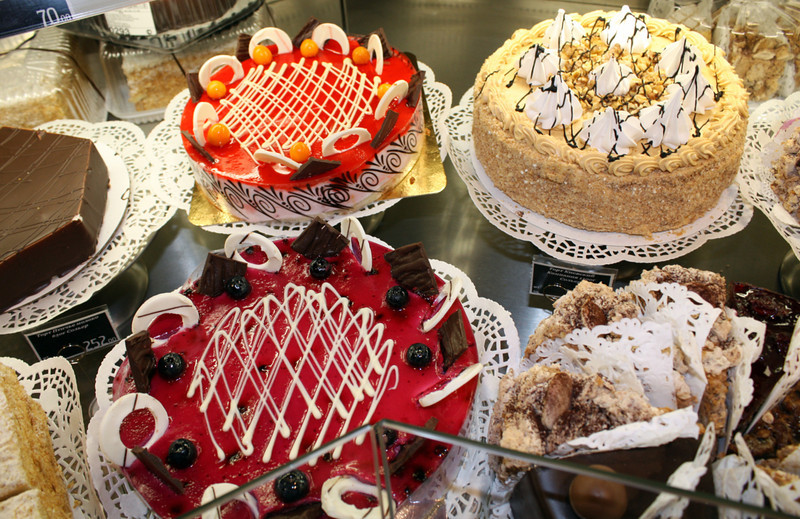 Tasty tortes. (Moscow)
