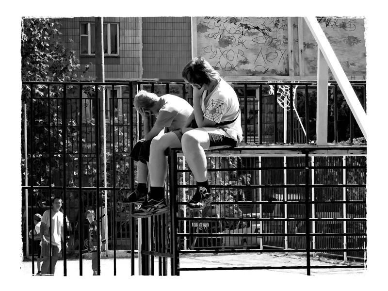 Boys in summer. (6.30.2012)