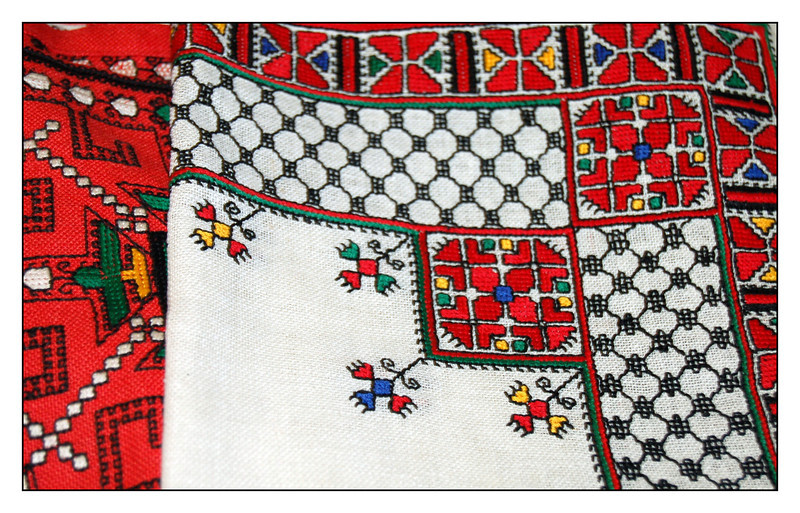 Chuvashian embroidery. The craftsmanship of Master Embroiderer Maria Simakova. (6.21.2011)