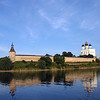 Every old Russian town has a Kremlin, which really just means fortress. This is the Pskov Kremlin & Trinity Cathedral as viewed from the Velikaya River. (5.21.2011)<br /> <br /> Wishing all a good weekend.