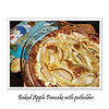 Baked apple pancake. (2.27.2012)<br /> <br /> I've never made traditional Russian pancakes (blini), which are thin like crepes & made with yeast. Although we'd eaten quite a few blini for last week's Maslenista (pancake week) - made, brought or bought by friends, I decided to end the holiday yesterday with this baked apple pancake.