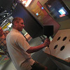 July 17... Paul beating back the spam at the Tech Museum.