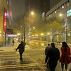 Nov 22... walking in the snow, downtown Seattle snow storm!