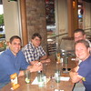 "July 8... Dinner at Sonoma Chicken Coop ""voted Best American by Wave 2010 readers"" with Paul, Rossen, Niki and Petar."