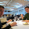 Nov 25... Thanksgiving dinner at MacArthur Park in Palo Alto with Petar and Niki.