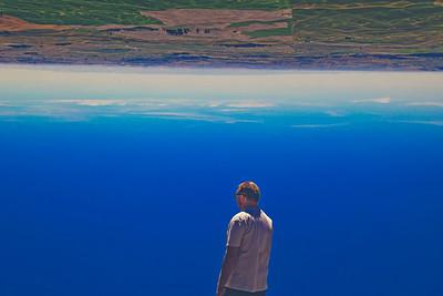Navigating an upside down world....
