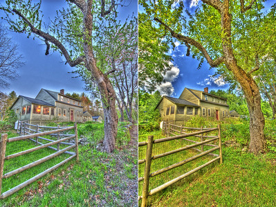 "These images were assembled using Photomatix using the ""Grunge"" tone generator setting."