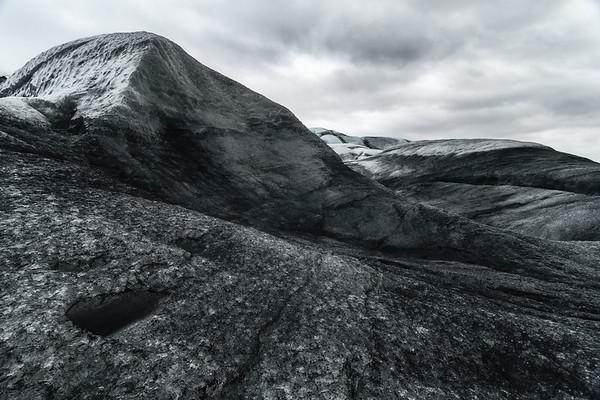 Sloping Glacier