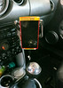 Nokia Lumia 920 duct tape car mount - mounted